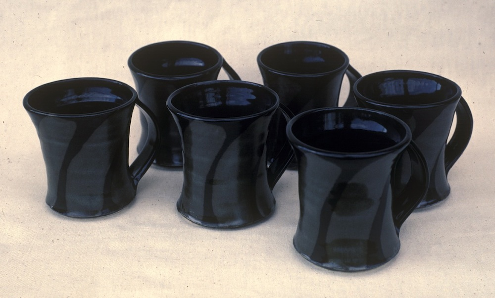 RT Leverich Porcelain Mugs c.1985