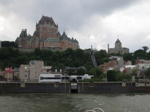 Quebec City from the Levis Ferry