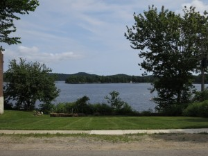 Castine: The site from the street