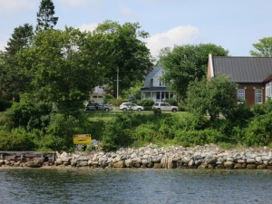 Castine: The site from the Water