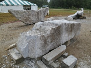 Schoodic: Roughing out the tall stone