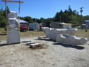 Schoodic: Home and Away roughed out