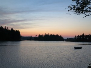 Schoodic: Lobster Boil Sunset