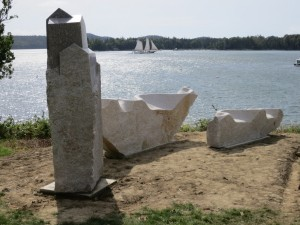 Schoodic: Home and Away installation