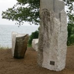 Home and Away, granite, 2014. Castine ME