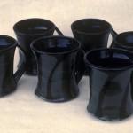 RT Leverich Porcelain Mugs c.1985