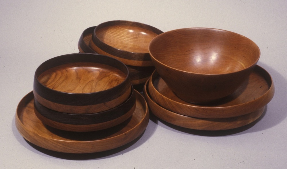 RT Leverich Turned Bowls c1992