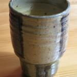 Stoneware Cup, salt glazed, 1979